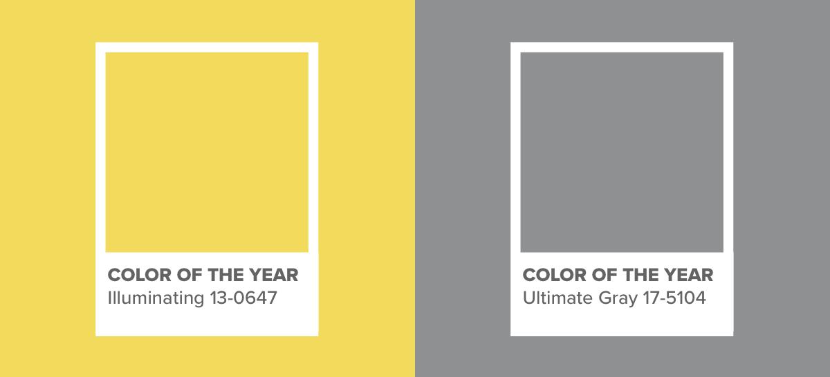 Ultimate Gray e Illuminating.
