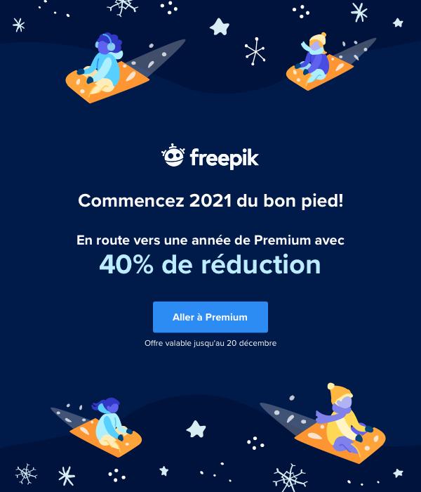 Commencez 2021 du bon pied! Stufe auf das Jahresabonnement hoch und spare 40 %