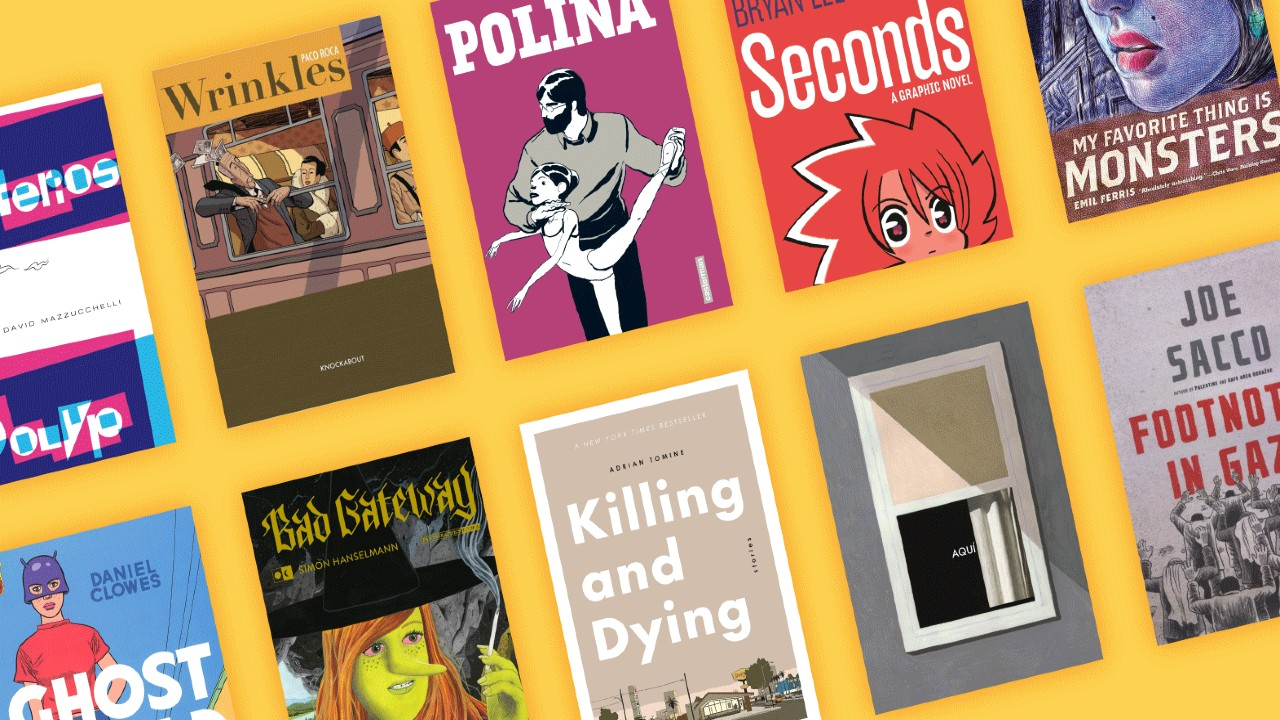 Must-read Graphic Novels That Inspired Our Team