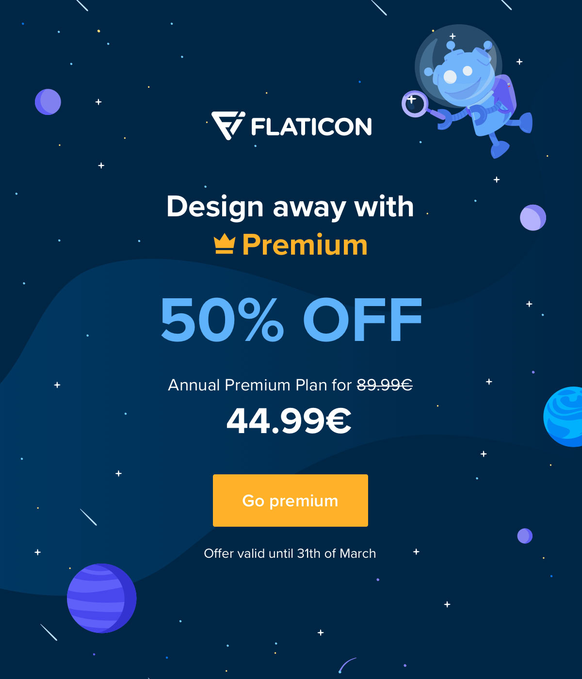 Design away with Premium