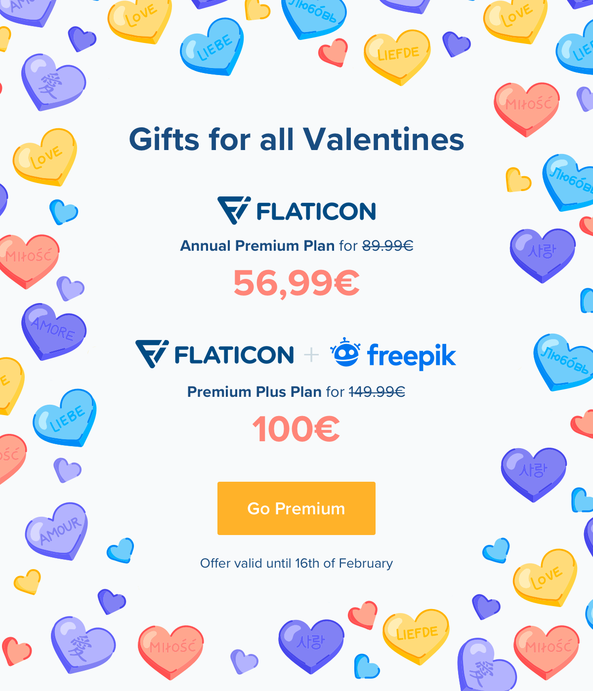 Gifts for all Valentines