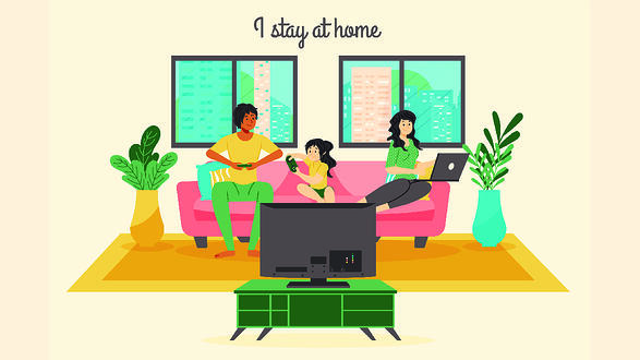Stay Home Tips for Designers